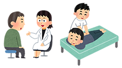 整骨院と医療機関を併用