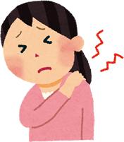 むちうちによる様々な症状イラスト